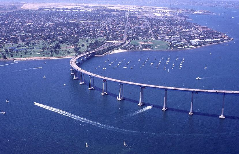 Coronado Aerial with Sailboats I Science Technology and Lifestyle I SciTechLifestyle.com