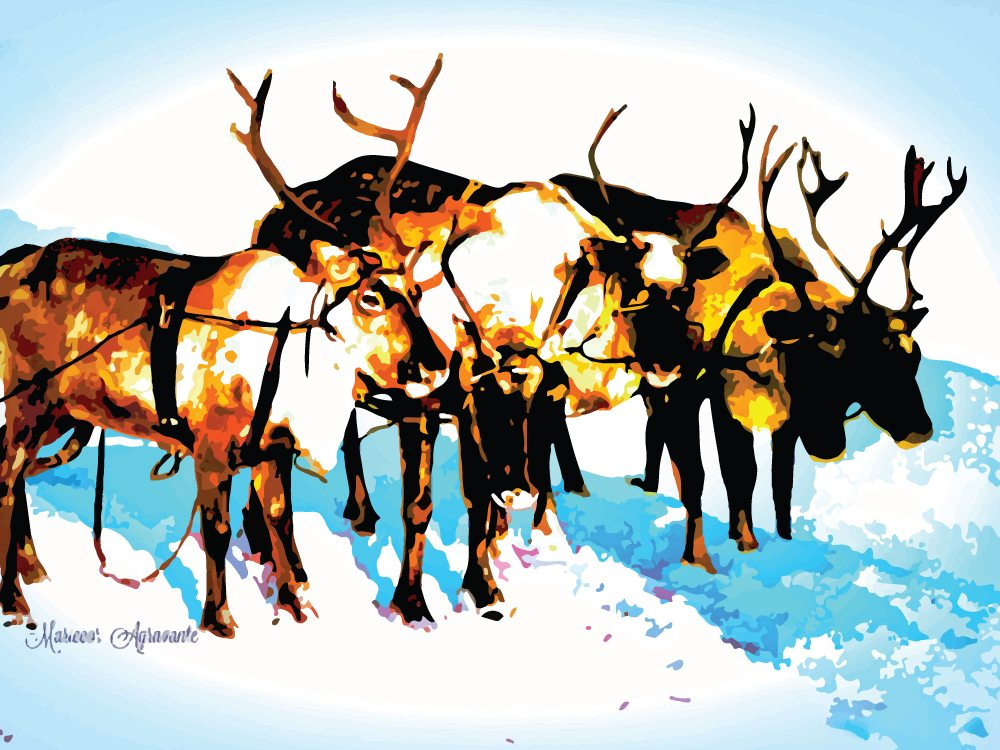 Team of Reindeer I Science, Technology, and Lifestyle I SciTechLifestyle.com